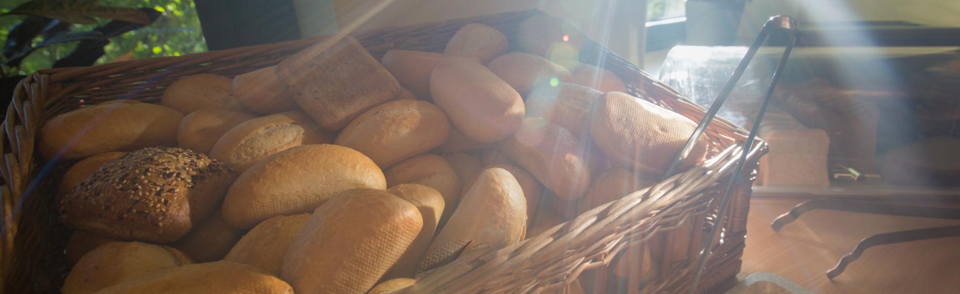 Frühstück im acama Hostel